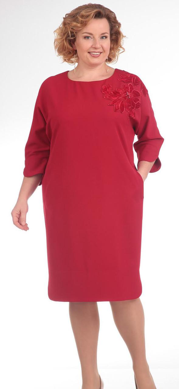 Платье Pretty-640/1, красный, 56