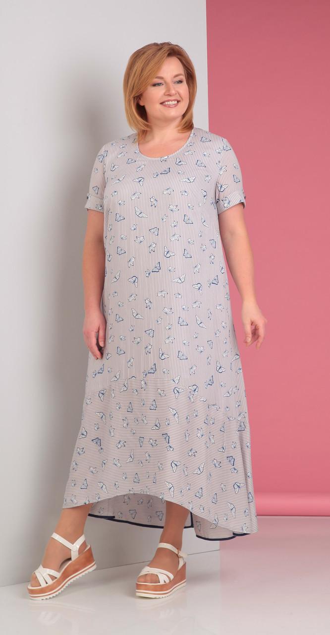 Платье Novella Sharm-2880, светлые тона, 62