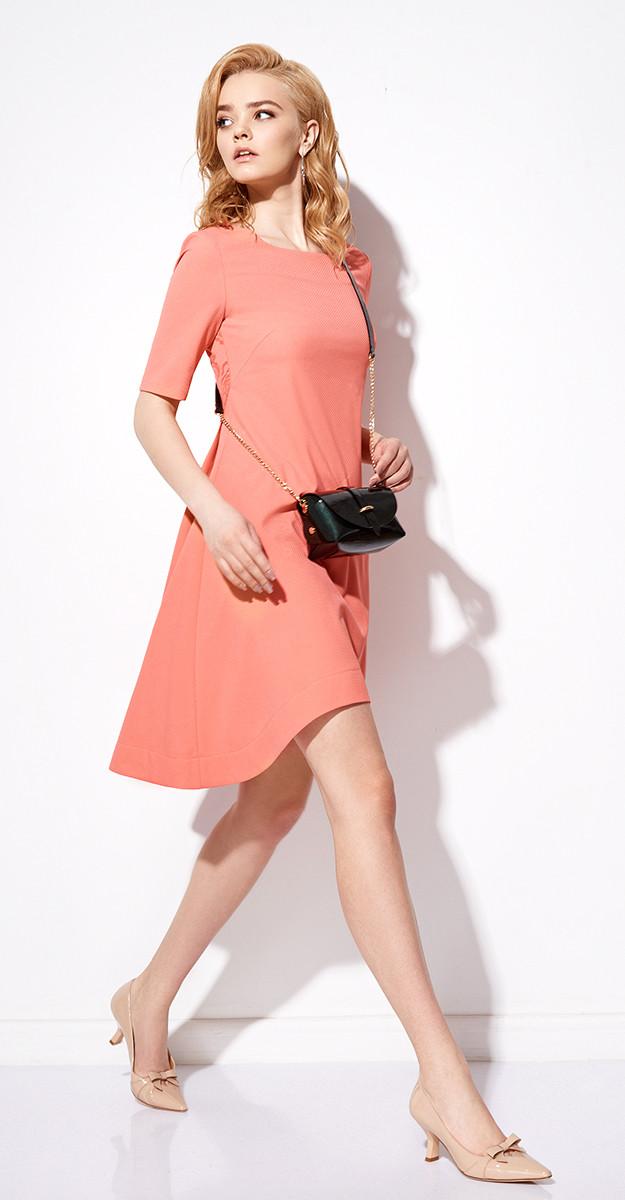 Платье Anna Majewska-700, персик, 44