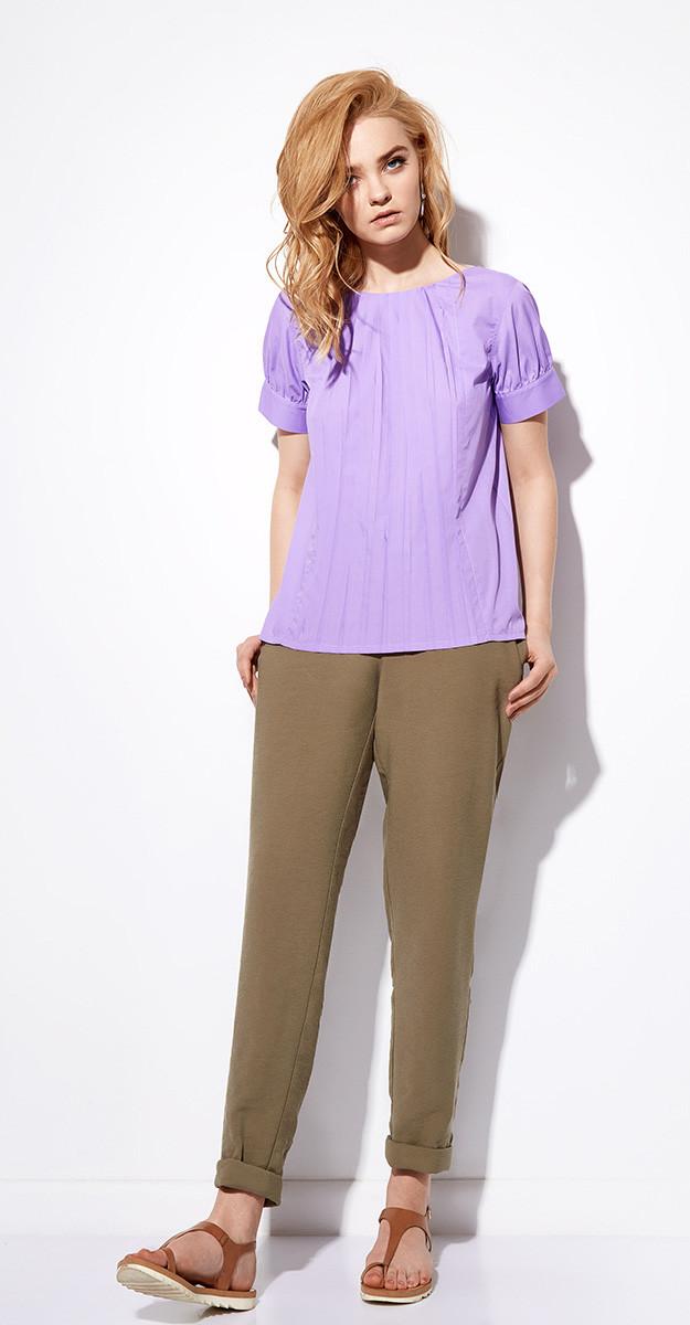 Блузка Anna Majewska-920/1, светло-фиолетовый, 44