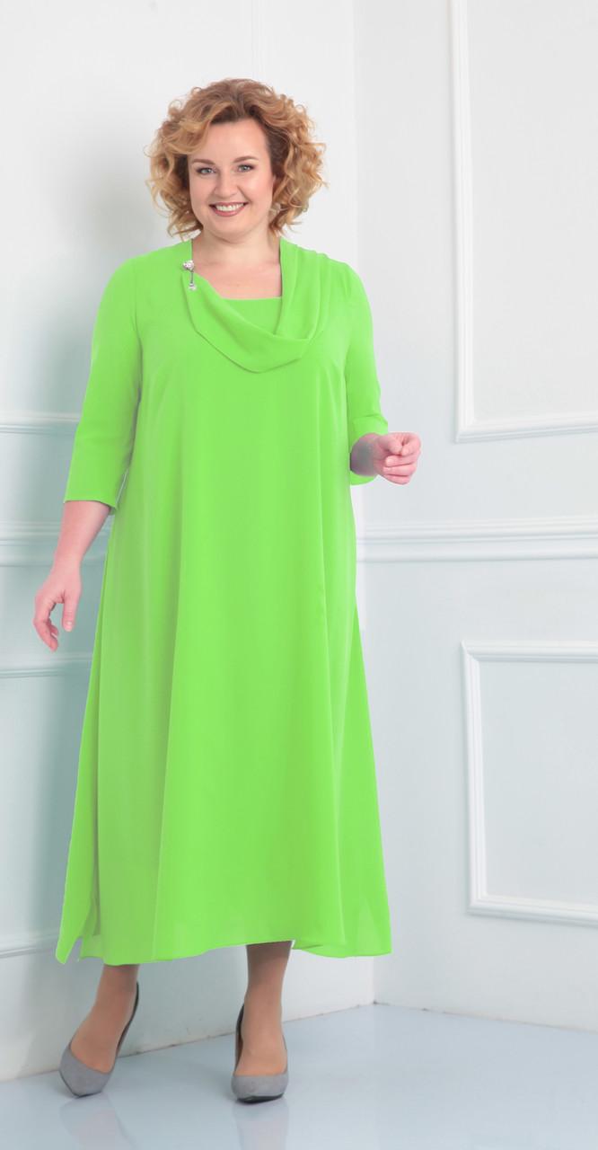 Платье Novella Sharm-2932-с, салатовый, 60