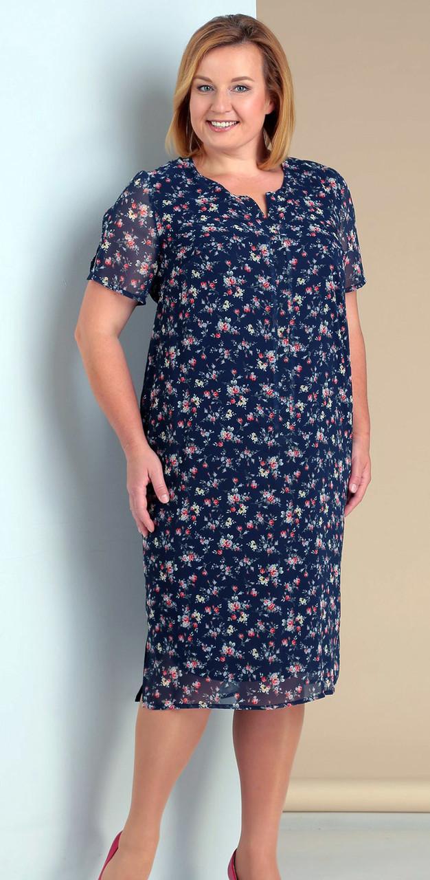Платье Novella Sharm-2965-1, синий, 68