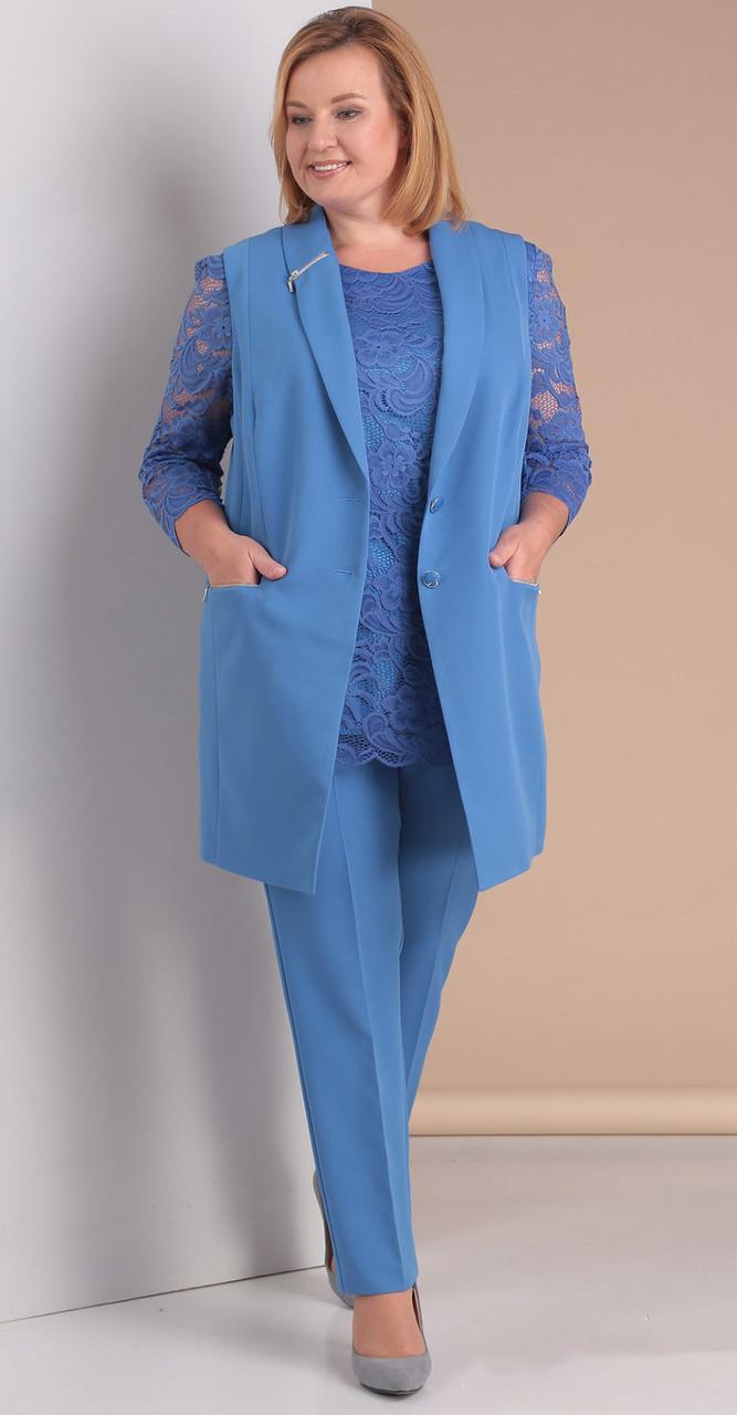 Костюм Novella Sharm-2950-1, голубой, 58