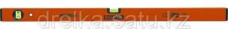 Уровень KRAFTOOL коробчатый усиленный, точность (0,5мм/м), 2 ампулы, 80 см, фото 2