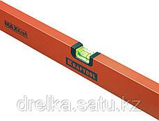 Уровень KRAFTOOL коробчатый усиленный, точность (0,5мм/м), 2 ампулы, 80 см, фото 3