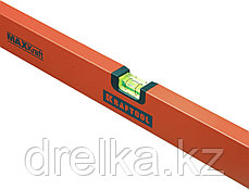 Уровень KRAFTOOL коробчатый усиленный, точность (0,5мм/м), 2 ампулы, 150 см, фото 3
