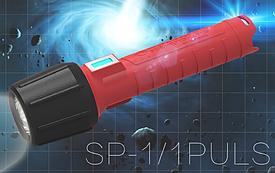 Промышленный водонепроницаемый и пылезащитный светодиодный фонарик sp-1/1 PULS