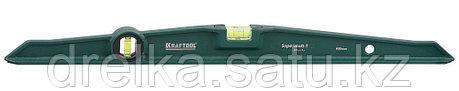 "Уровень KRAFTOOL ""SUPERKRAFT-T"" литой, 2 ампулы, 0,5 мм/м, 600 мм, фото 2"