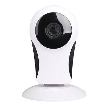 Беспроводная панорамная Wi-Fi камера видеонаблюдения на 180° (рыбий глаз) - 1.0MP