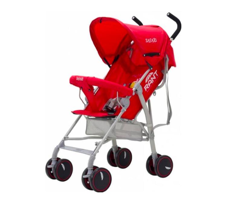 Прогулочная коляска Rant Safari Red