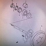 Кольцо стопорное полуоси SUZUKI GRAND VITARA XL-7 JA627W, фото 3