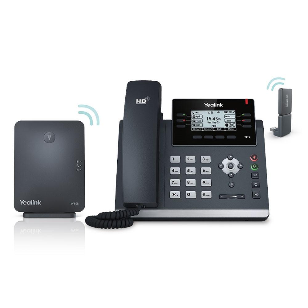 IP DECT телефон Yealink W41P