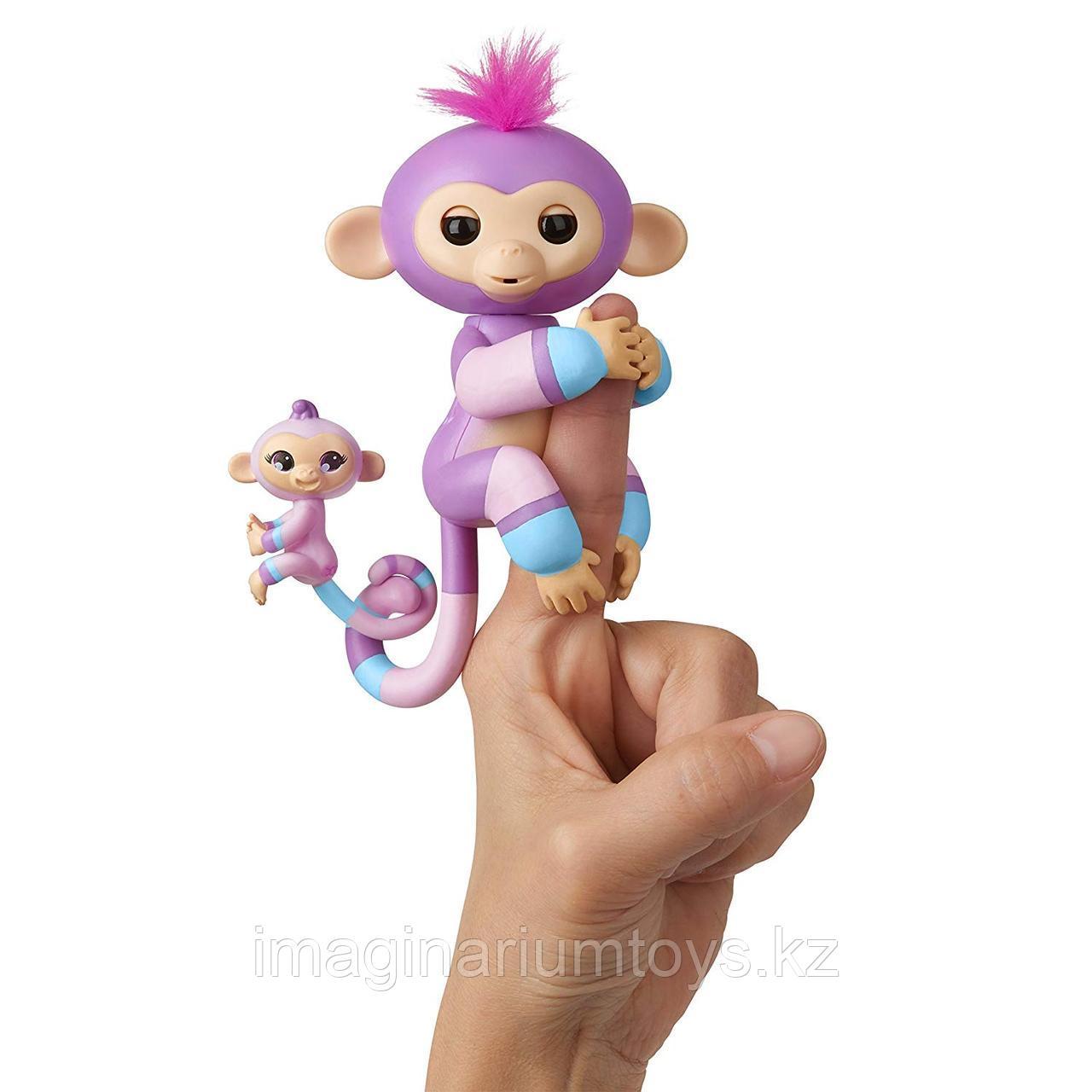 Интерактивные обезьянки Fingerlings двойные