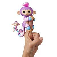 Интерактивные обезьянки Fingerlings двойные, фото 1