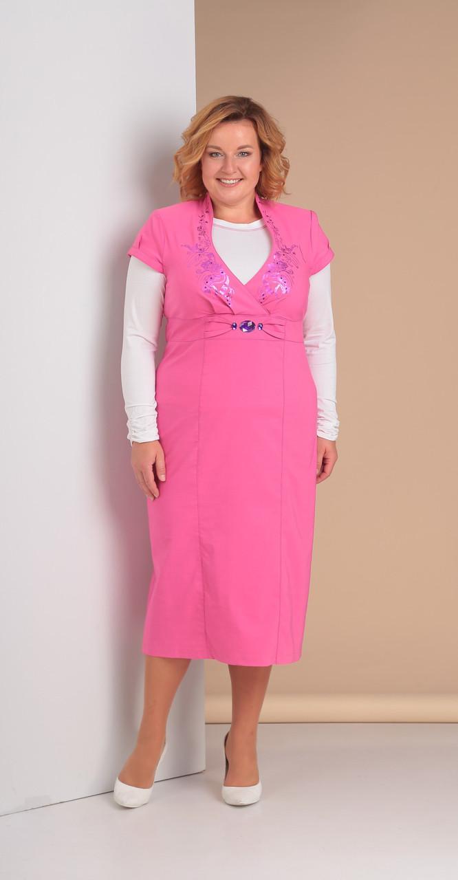 Костюм Novella Sharm-3077, розовый, 54