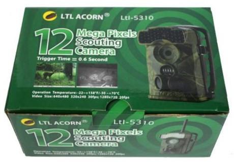 """Упаковка, в которой поставляется фотоловушка """"Ltl Acorn 5310WMG"""""""