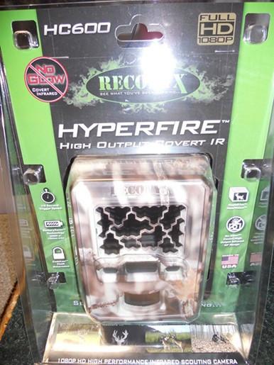 """Оригинальная упаковка, в которой поставляется фотоловушка """"Reconyx HC600"""""""