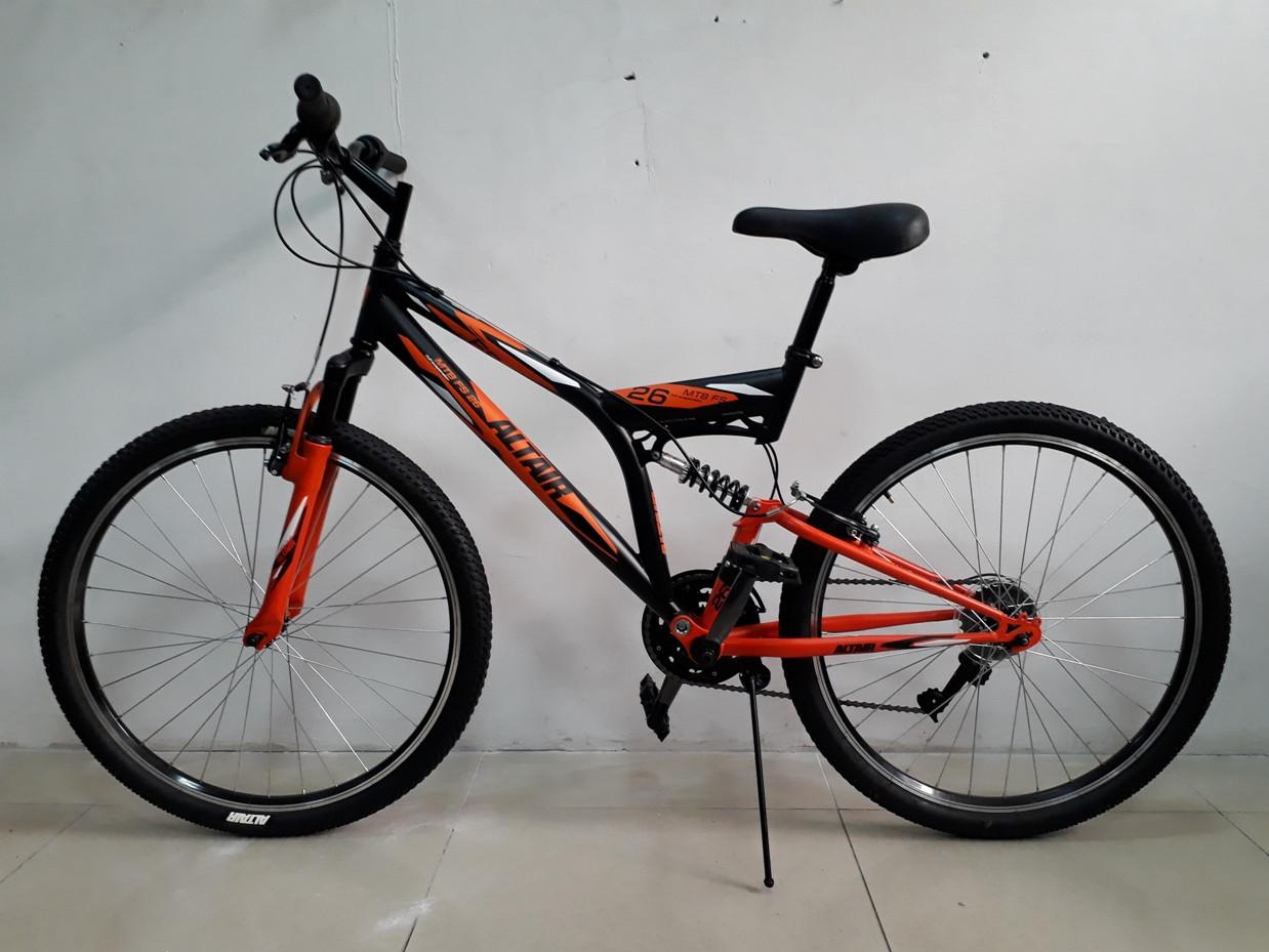 """Велосипед двухподвесный MTB FS 26 """"Altair"""". Производство Россия"""