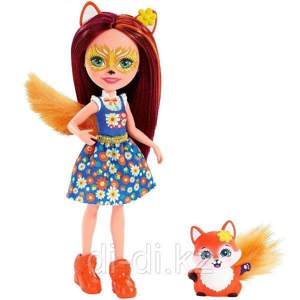 Mattel Enchantimals Кукла с питомцем Фелисити Лис