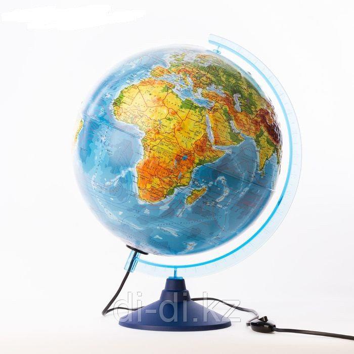 GLOBEN Глoбус физический рельефный «Классик Евро», диаметр 320 мм, с подсветкой Ke013200231