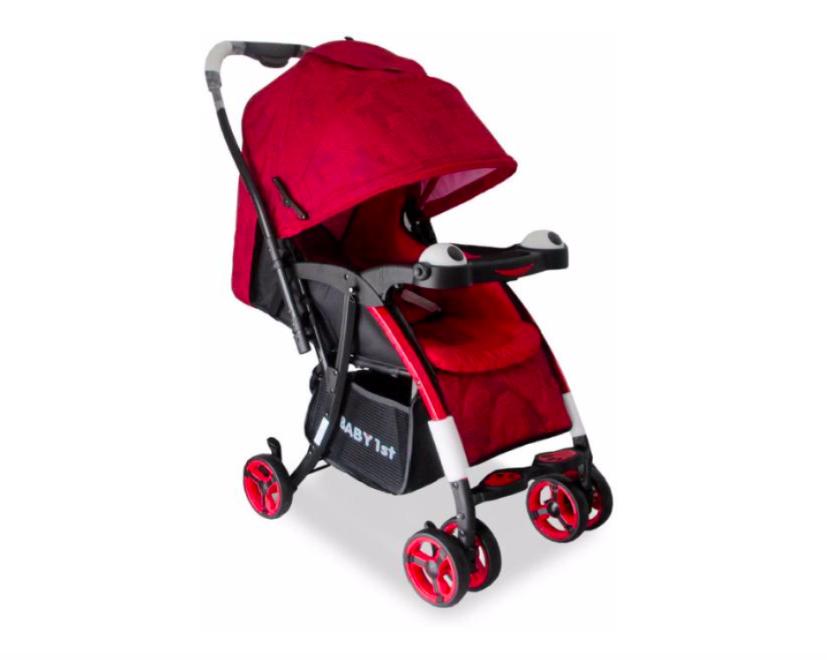 Прогулочная коляска Alis Joy Красный