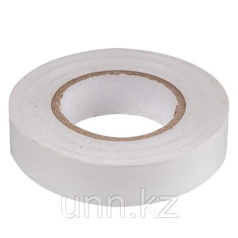Изолента 0,13*15 мм белая 20 метров ИЭК, фото 2