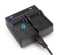 Зарядное устройство для 2-х аккумуляторов SONY NP-F970/NP-F770/NP-F550/NP-F570 и т.д., фото 2