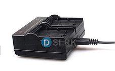 Зарядное устройство для 2-х аккумуляторов SONY NP-F970/NP-F770/NP-F550/NP-F570 и т.д., фото 3