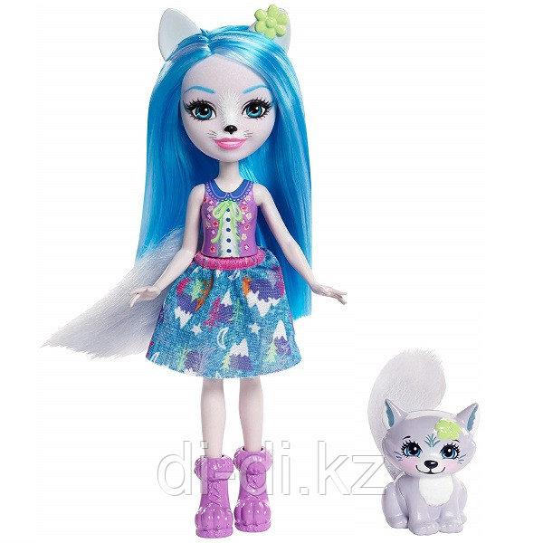 Mattel Enchantimals Кукла с питомцем Волчица Винсли
