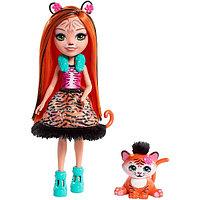 Mattel Enchantimals Кукла с питомцем Тигрица Тэнзи