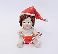 Статуэтка Рождественский мальчик. Италия. Керамика, ручная работа
