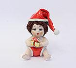 Статуэтка Рождественский мальчик. Италия. Керамика, ручная работа, фото 2