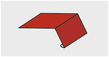 Планка карнизная 100х69