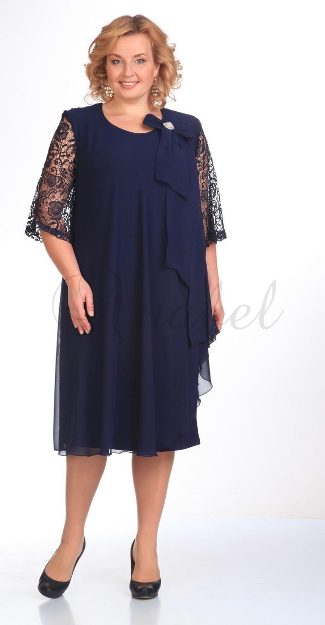 Платье Pretty-254, темно-синий, 58
