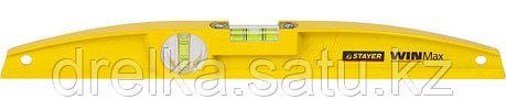 """Уровень STAYER """"PROFI"""" WINMax литой усиленный, 2 цельные противоудар ампулы, фрезерован поверхность, 40 см, фото 2"""