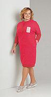 Платье Диамант-1346, красный, 52