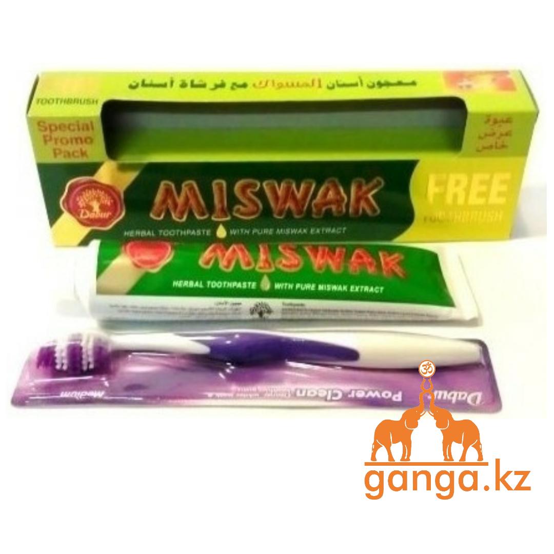 Зубная паста Мисвак (Miswak DABUR), 190 г.+зубная щатка