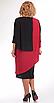 Платье Pretty-36, черно-красный, 54, фото 2