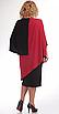 Платье Pretty-36, черно-красный, 54, фото 3