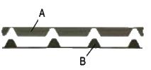 Уплотнители ТСП-К-А и ТСП-К-В, 1 м