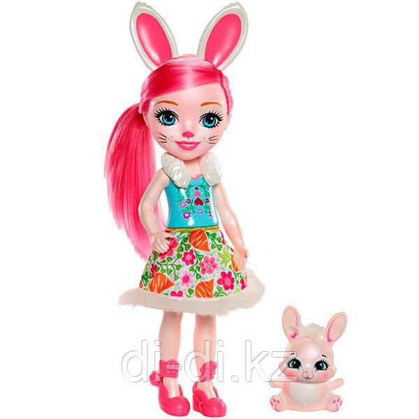 Mattel Enchantimals Большая кукла с любимой зверюшкой