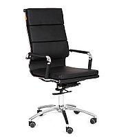 Кресло офисное для руководителя CHAIRMAN 750 коричневый