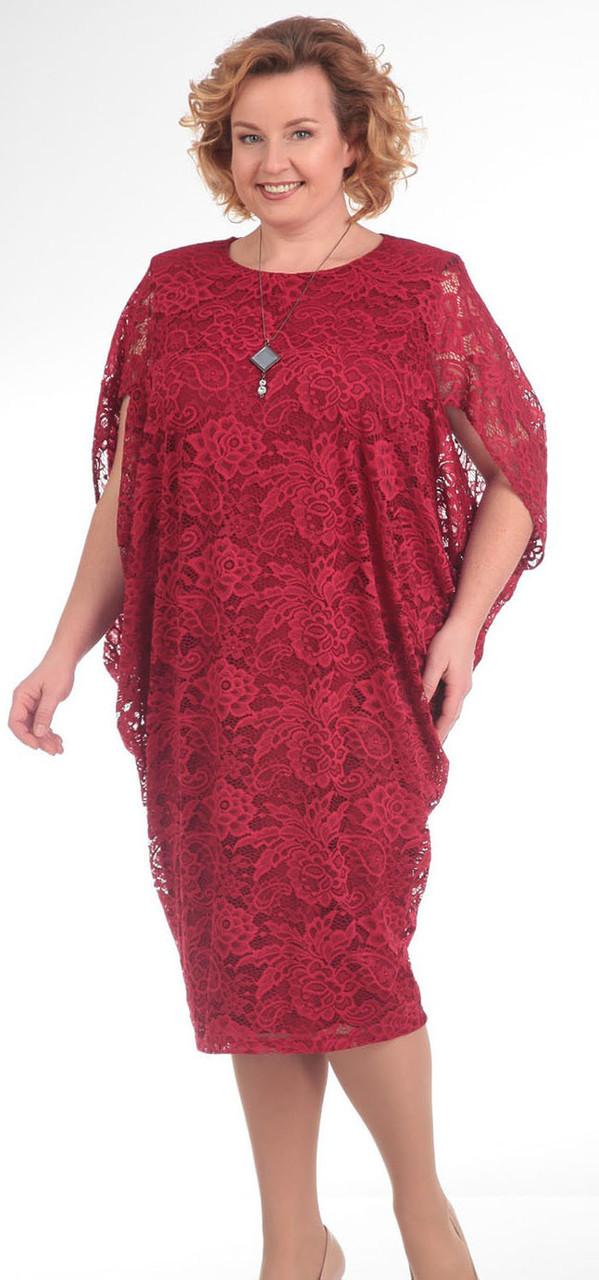 Платье Pretty-557, красные тона, 56
