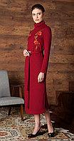 Платье Nova Line-5736/1, бордо, 42