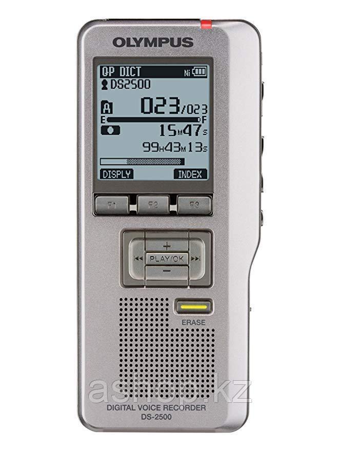Диктофон Olympus DS-2500, 2 Gb, Время записи: До 303 часов, Матричный, Серый, (V741030BU000)