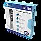 Диктофон Ritmix RR-150, 8 Gb, MP3, WAV, Время записи: PCM 12ч., NR - 48 ч., HQ - 142 ч., Матричный, Радио, Сер, фото 8