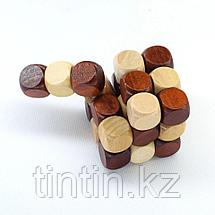 Деревянная головоломка - Хвост Дракона, фото 3