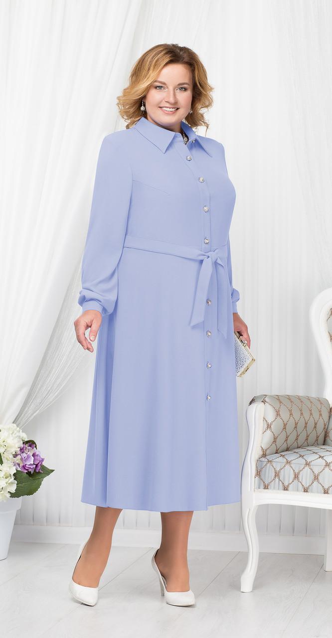 Платье Ninele-2178, голубой, 52