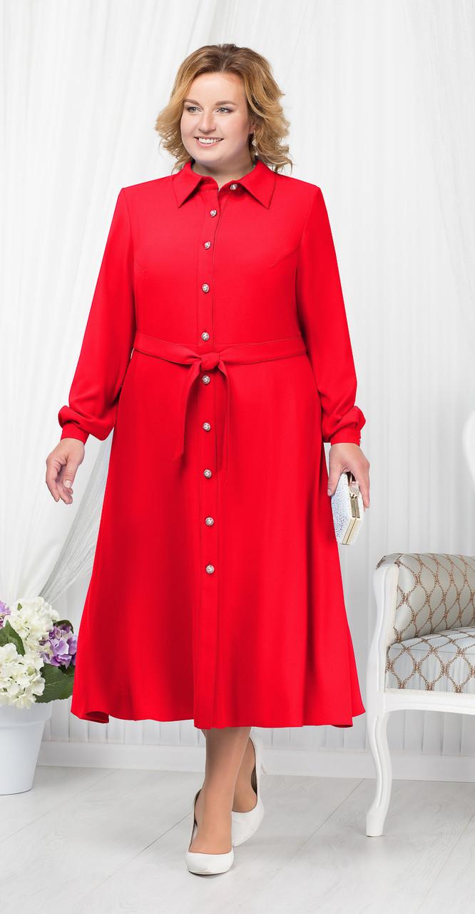 Платье Ninele-2178/1, красный, 52