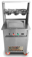 Фризер для жареного мороженого Foodatlas KCB-1F (стол для топпингов)